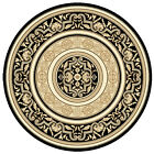 Beautiful CHARISMA Traditional Floor Round RUGS CARPET 200 x 200 cm FREE POSTAGE