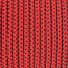 Modern Fabric Braided Cable / Flex In Red Black Dot Pattern - 2 Or 3 Core