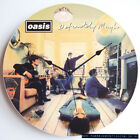 "Oasis - Definitely Maybe (1994) 12"" Vinyl Record Clock, pretty green, gallagher"