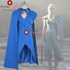 New Game of Thrones 7 Daenerys Targaryen Dress  cosplay costume Halloween