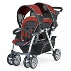 Chicco Baby Infant Toddler Cortina Together Double Stroller Element Ombra