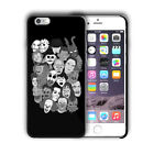 Halloween Horror Characters Iphone 4s 5s 5c SE 6s 7 8 X XS Max XR Plus Case n13