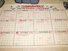 1994 GRAVELY Calendar for Tractor Dealers Planning Calendar - NOS