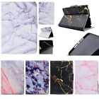 Marble Pattern Synthetic Leather Smart Case Cover For iPad Min 234  Air 2 Pro9.7