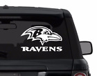 BALTIMORE RAVENS sticker for car, laptop,yeti CHOOSE COLOR die cut vinyl $18.99 USD on eBay
