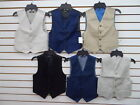 Boys Assorted Vest Size 4 18 20