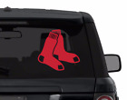 BOSTON RED SOX decal sticker for car, laptop,yeti CHOOSE COLOR die cut vinyl on Ebay