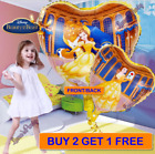 5PC HEART BEAUTY AND THE BEAST LATEX BELLE BIRTHDAY PRINCESS DISNEY ❤ BALLOONS