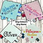 DISNEY STYLE PERSONALISED BABY TAGGY TAGGIE BLANKET COMFORTER BOY GIRL GIFT TAG