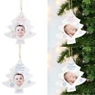 PERSONALISED Babies First 1st Christmas Xmas Tree Photo Frame Bauble Decoration