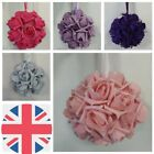 wedding kissing balls pom artificial foam rose flower decoration