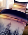 2 tlg 4 tlg Wende Bettwäsche 135x200 ThermoFleece Sonne Microfaser Winter F112