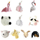 Wall Mount Animal Head Sculpture Kids Playroom Toy Doll Wall