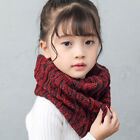 Kids Baby Winter Scarf Knit Warm Unisex Boy Girls Knitted Scarves Neckerchief