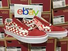 Vans Old Skool Checkerboard Red Checker Primary Supreme All Sizes 4-13 Limited
