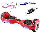 3 TYPE 6.5'' SMART BALANCED CAR RIDING VEHICLE BLUETOOTH LED BEST GIFT US SHIP