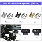 nov Titanium chain pusher full set / light weight for brompton  (for 2, 6 speed)