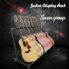 UK 3/5/7/9 Way Multi Guitar Stand Foldable Acoustic Electric Bass Guitar Rack