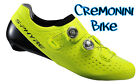 Scarpe bici bike shoes Shimano S-PHYRE gialle RC9 RC900 yellow carbon ciclismo