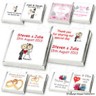 """Personalised Chocolate Favours """"NEW Christmas/Winter Collection"""" Fast, Free Post"""