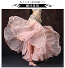 NEW Luxury Lace Professional Belly Dancing Costumes Big Skirt + Safe Short Pants