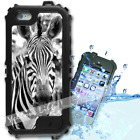 For iPhone 6 PLUS 5.5inch Waterproof TOUGH Case Zebra Real Y01056