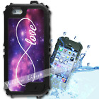 For iPhone 6 PLUS 5.5inch Waterproof TOUGH Case Infinity Love Y01061