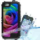 For iPhone 6 PLUS 5.5inch Waterproof TOUGH Case Rainbow Rose Y01017