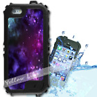 For iPhone 6 PLUS 5.5inch Waterproof TOUGH Case Purple Galaxy Y01027