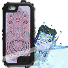 For iPhone 6 PLUS 5.5inch Waterproof TOUGH Case Pink Hamsa Hand Y01101