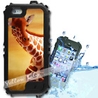 For iPhone 6 PLUS 5.5inch Waterproof TOUGH Case Painted Giraffe Y01131