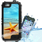 For iPhone 6 PLUS 5.5inch Waterproof TOUGH Case Starfish Sand Beach Y01106