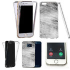 360° full body case for huawei & other mobiles -gratifying marble