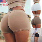 US Sexy & Hot Women's Summer Hot Pants Sports Fitness Athletic Gym Short Shorts