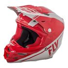 Fly Racing 2018 F2 Carbon Rewire Adult Motocross Off Road Helmet - Red/Grey