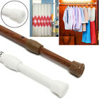 Spring Loaded Extendable Telescopic Tension Curtain Rail Pole Rods Home Tool WOW
