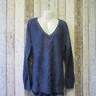 Ladies Bravesoul Cable Knit Jumper. Blue. Size 18 Curve (2753499 70) C