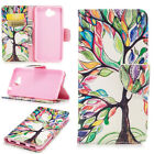 UK Colors Pattern Wallet Case Flip PU Leather Stand Cover For Huawei Cell Phone
