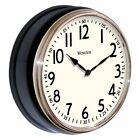 Westclox 12 in. Deep Dish Wall Clock