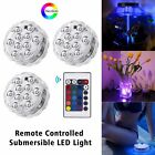 Remote Control RGB Multi Colour Changing Underwater Pond Aqua Mood LED Lights