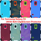 For Samsung Galaxy S5 Case (Belt Clip fits Otterbox Defender series)