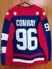 Mighty Ducks D2 Movie Team USA Hockey Jersey 96 Charlie Conway Stitched All