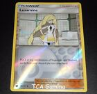 Lusamine 96/111 SM Crimson Invasion REVERSE HOLO Pokemon Card NEAR MINT
