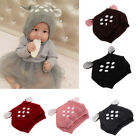 Cute Deer Ear Baby Toddler Boys Girls Cartoon Winter Warm Beanie Hat Crochet Cap