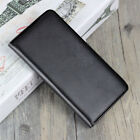 Black Premium Luxury Leather Flip Wallet Book Case Cover For Samsung Galaxy