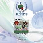 MOZAMBIQUE PING PONG TABLE TENNIS WOMEN PLAYES S/S MNH C10 MOZ10203B