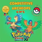 Pokémon ORAS / XY – COMPETITIVE ARCHEOPS 6IV's Shiny / No Shiny