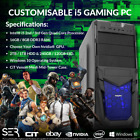 Windows 10 Customised I5 Quad Core Rgb Gaming Tower 16gb / 8gb Ddr3 Pc Computer