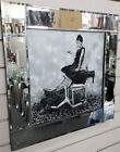 Audrey Hepburn nail paint bottles crystals, liquid art & mirror frame pictures.