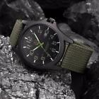 Men Outdoor Date Stainless Steel Military Analog Quartz Army Wrist Watch Nice